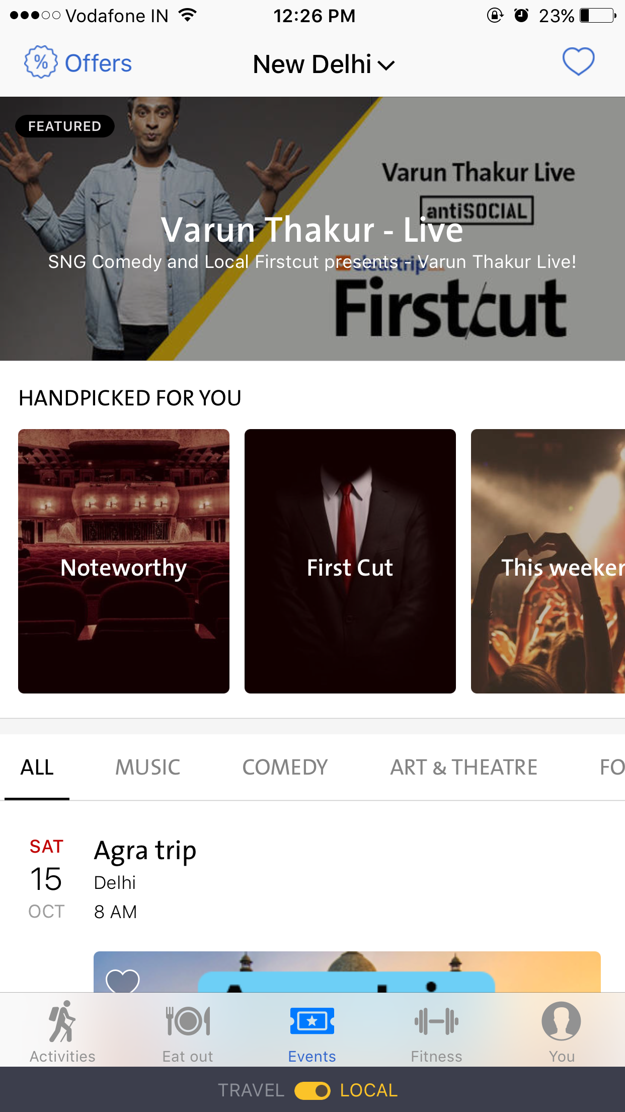 Cleartrip First Cut - A series of original events in Comedy, Music, & Storytelling
